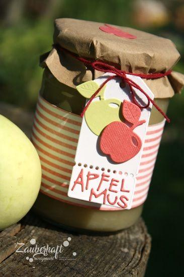 Werbung Charliepaulchen Apfelmus Sommer Garten Deko Anhänger