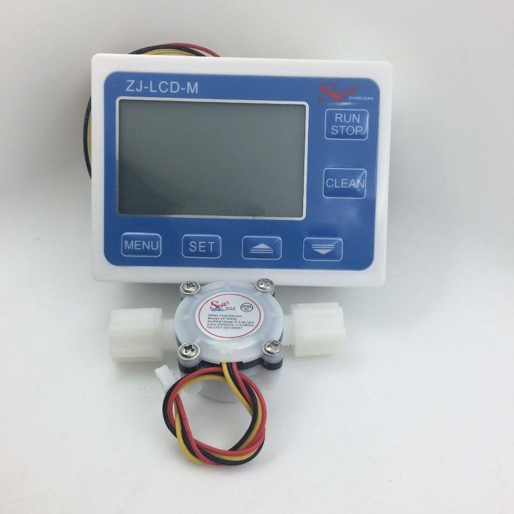 56.03$  Buy here - http://alint8.shopchina.info/1/go.php?t=32289711153 - Flow meter water gauge flowmeter caudalimetro counter flow indicator sensor flow sensor with LCD flow meter 3-24V 0.3-6L/min  #magazineonline
