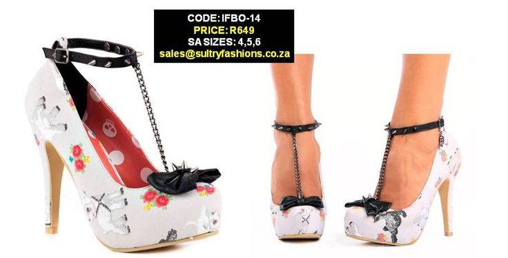 IFBO-14 T-Bar Platforms PRICE: R649.00  SIZES: 4,5,6 sales@sultryfashions.co.za