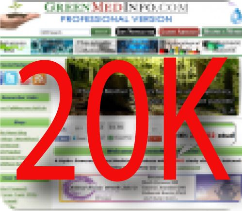 GreenMedInfo.com is excited to announce it has reached a new milestone: the indexing of over 20,000 study abstracts in support of natural medicine, all of which are free to view by anyone in the world with internet access.