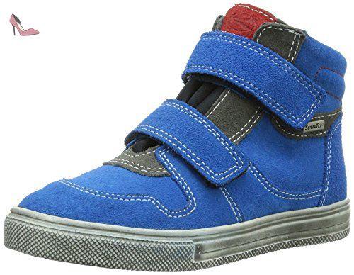 Kinderschuhe Terrino, Chaussures Marche Bébé Garçon, Bleu (Atlantic/Lagoon), 26 EURichter