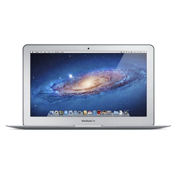 Image of Apple MacBook Air 11.6-Inch Laptop Intel Core i5 1.6GHz 2GB 1333MHz DDR3 SDRAM 64GB SSD Yosemite 10.10.5 MC968LL/A