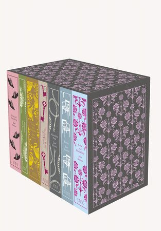 Jane Austen: The Complete Works by Jane Austen | Part of Penguin's beautiful Hardcover Classics series, designed by the award-winning Coralie Bickford-Smith, these delectable and collectible editions are bound in high-quality, tactile cloth with foil stamped into the design.