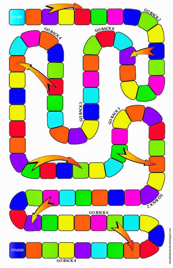 Game board colors - Relentlessly Fun Deceptively Educational Equivalent Fractions Missing Numerator Board Game