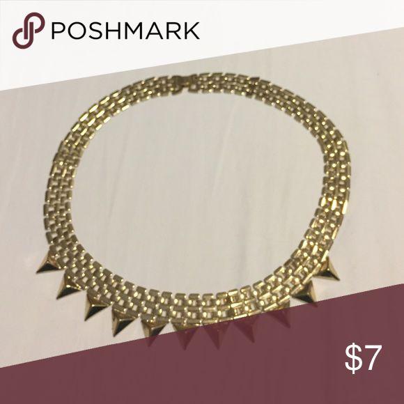 Gold Collar Necklace Gold collar necklace Jewelry Necklaces