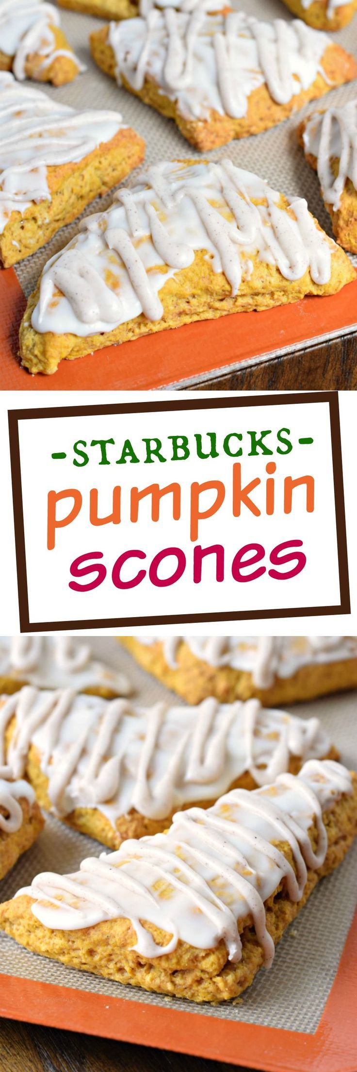 If you love Starbuck's Pumpkin Scones, you've got to give this copycat recipe a…