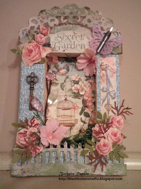 Graphic 45 S New Secret Garden Collection Altered Canvas