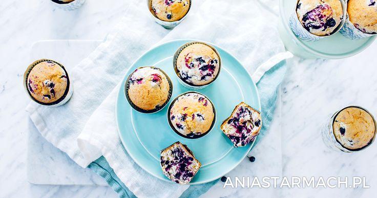 Muffiny z jagodami | Ania Starmach