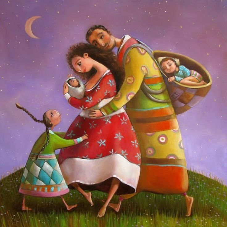 Семейные картинки со смыслом нарисованные, открытки цветов