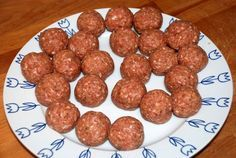 Italiaanse gehaktballen van Jamie Oliver - Keuken♥Liefde