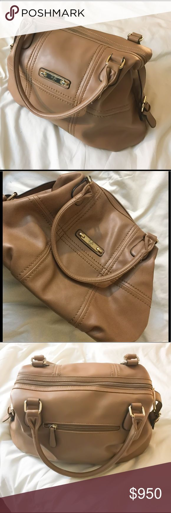 """Auth Versace Doctors Bag 100% authentic Versace brown shoulder bag. This bag is very large approximate measurements: 18"""" x 12"""" x 6.5"""" Gold hardware, serial number tag inside, Versace brand tag in lining. Features outer zip pocket, inner zip pocket and two slip pockets. Zipper closure w Versace zipper hang tag. This bag is in fantastic, mint condition, not a single flaw on it. Posh rules only, no PayPal, no lowball offers. Serious buyers only. Reasonable offers okay. Happy Poshing! 🖤 Versace…"""