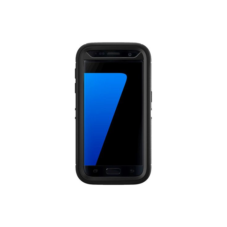 OtterBox Samsung Galaxy S7 Case Defender - Black