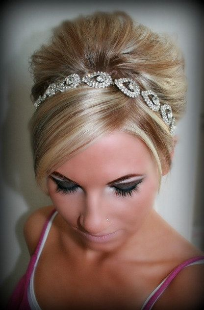 25+ best Bridal Headbands trending ideas on Pinterest ... - photo #48