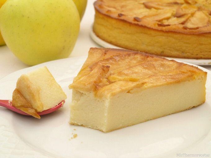 Tarta de manzana, al horno -