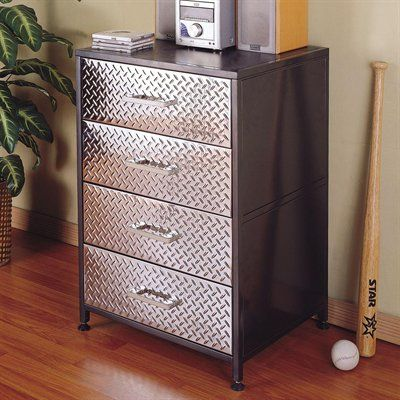 Powell 500-008 Monster Bedroom Drawer Chest Kids Dresser