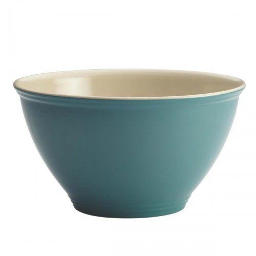Rachael Ray Cucina Garbage Bowl, Agave Blue
