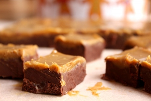 gingerbread chocolate fudge