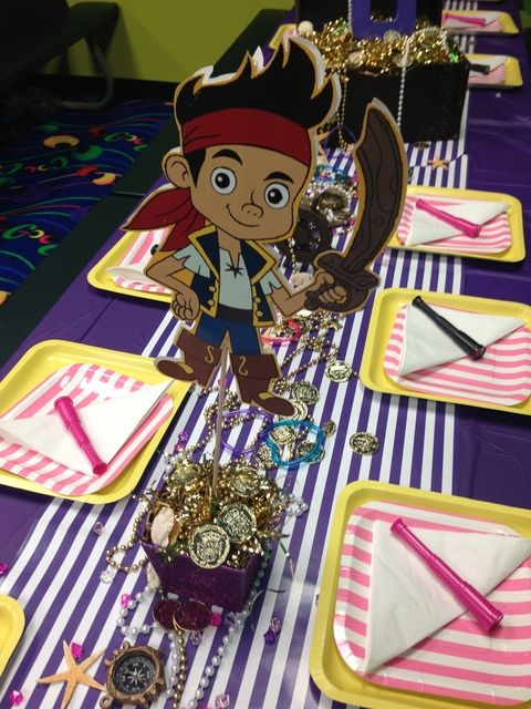 "Photo 4 of 19: Jake and the neverland pirates girl party / Birthday ""Emmerson's 6th Pirate Party"" 