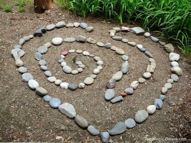 Ιδέες Διακόσμησης κήπου με βράχια και πέτρες19