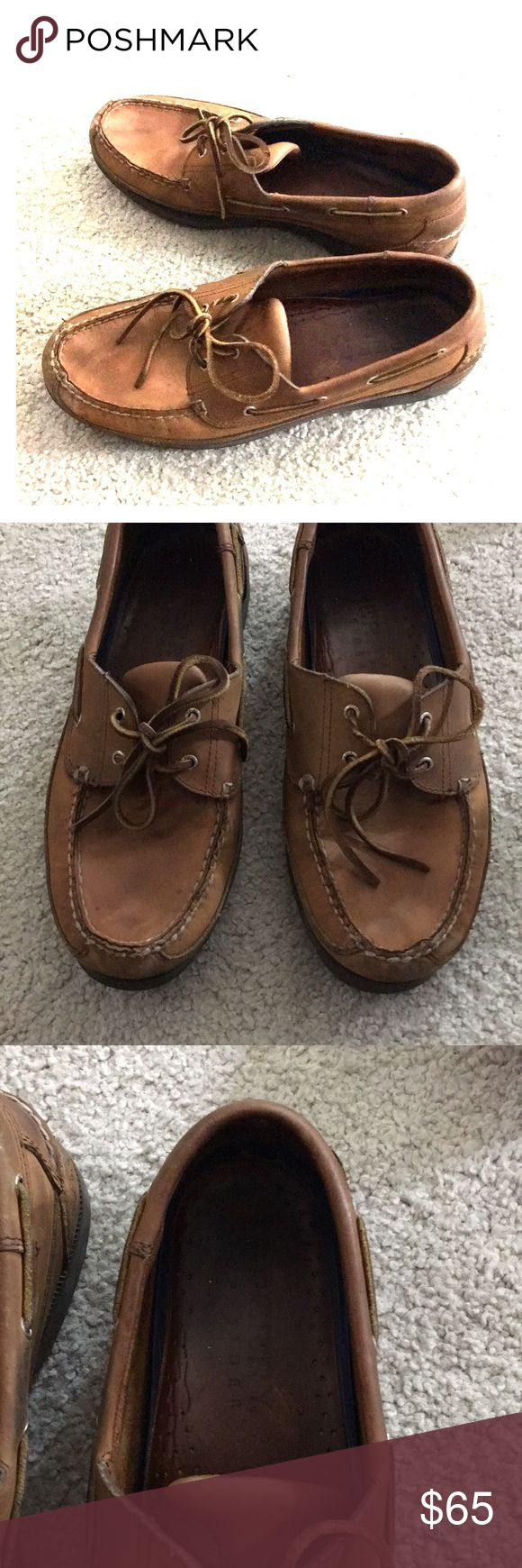 🇺🇸Sperry top slider men brown leather sz 11 wide Men's Speary top slider loafers size 11 wide brown leather very comfortable awesome shoes great for any season non-smoking home fast delivery I didn't excellent price get it today Sperry Top-Sider Shoes Loafers & Slip-Ons