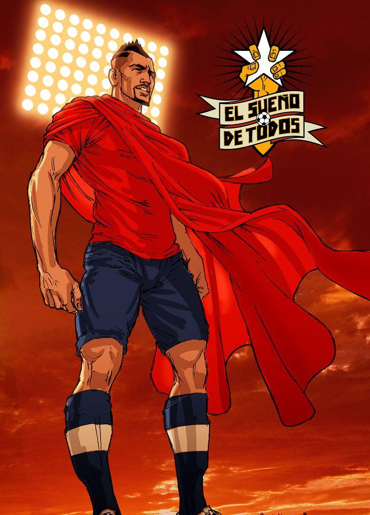 El Guerrero, Arturo Vidal!