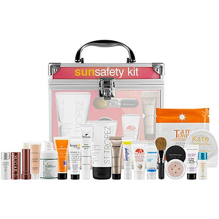 Just got my Sun Safety Kit in the mail! Sephora is donating 100% of the net profits to The Skin Cancer Foundation. Support the cause and get some amazing supplies!