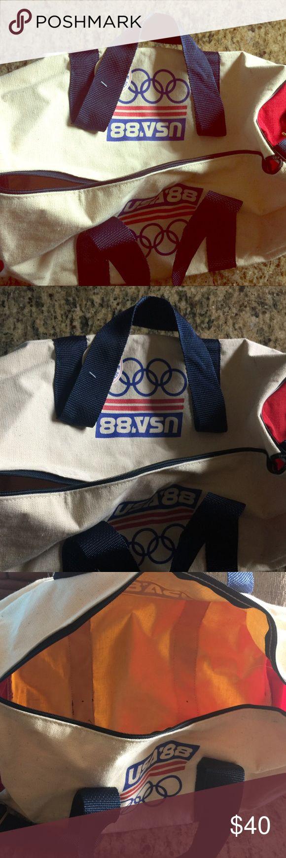 1988 Olympic Duffle Bag USA Has original tags Bags