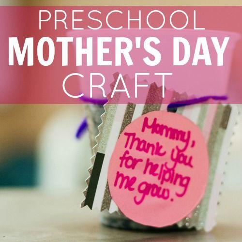Mother Day Craft Ideas Preschool