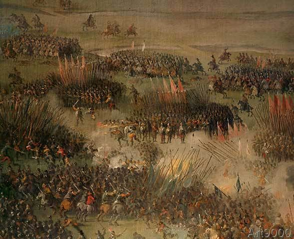 Peeter Snayers - Thirty Years War (1618-1648): The battle