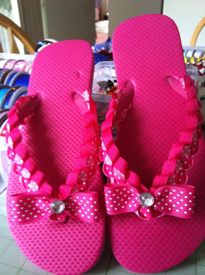 Flip Flops I Decorated