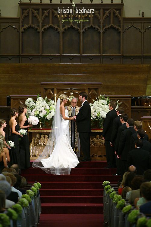 Best 25 wedding alter flowers ideas on pinterest outdoor pew decs i love the flowers up on the alter i would want to include church wedding junglespirit Images