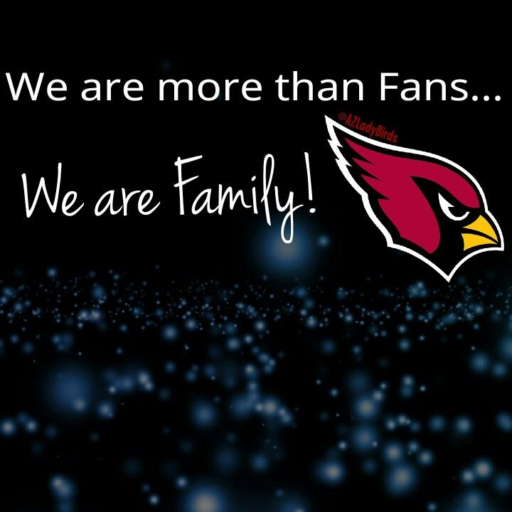 TRUE! NFL Arizona Cardinals #AZLadyBirds
