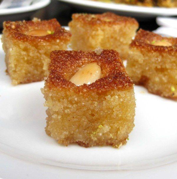 Lebanese Honey Cake