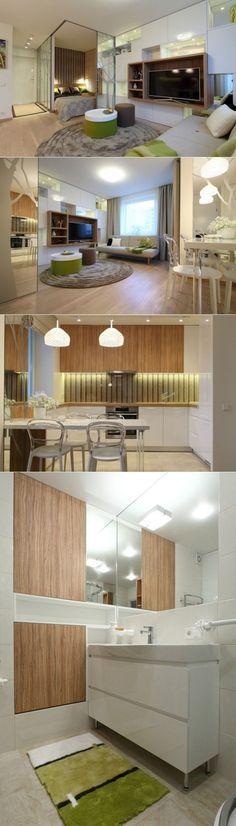 Дизайн квартиры-студии - Дизайн интерьеров | Идеи вашего дома | Lodgers