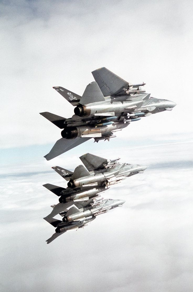 Because of the truly sick payload an F-14 could carry, including ground targeting systems, it saw close air support service in Operation Enduring Freedom.