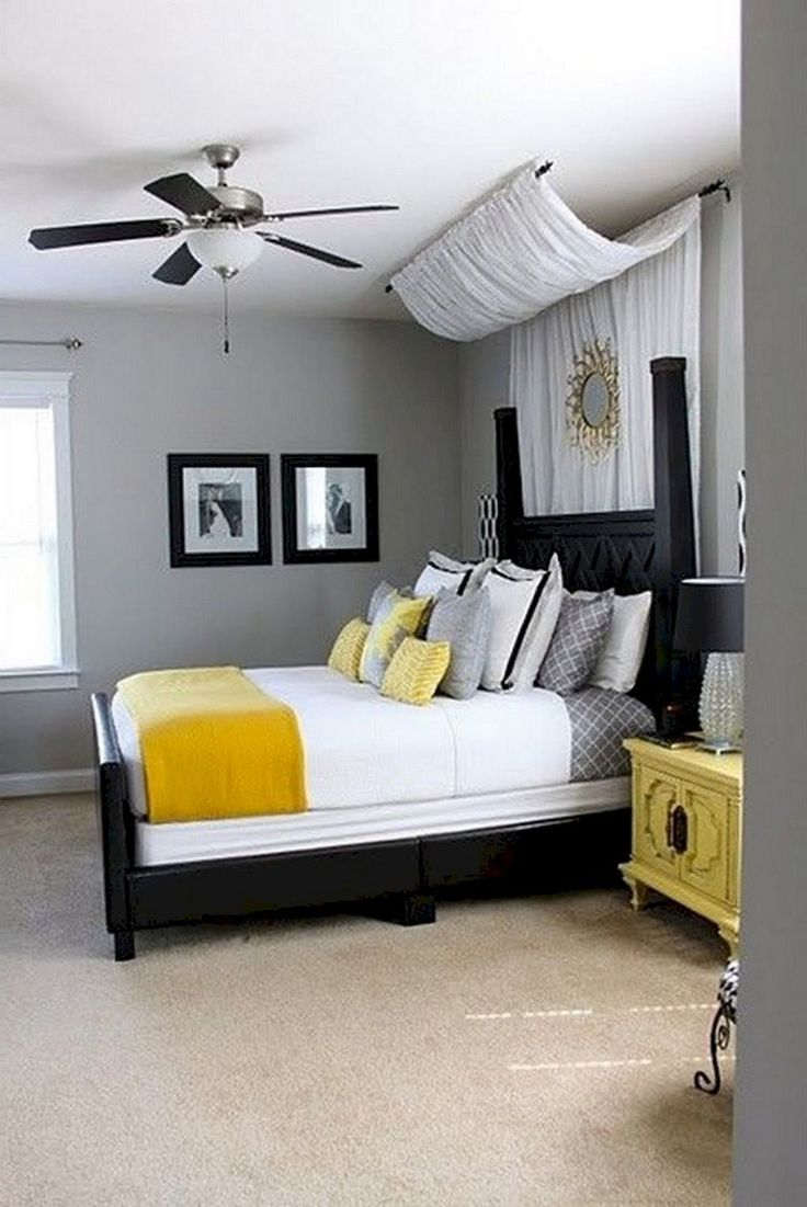 30 Beautiful First Apartment Bedroom Decoration Ideas With Images Remodel Bedroom Romantic