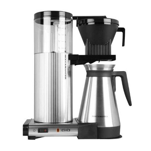 Technivorm Moccamaster CDT Is One Of The Few Auto Drip Coffee Makers  Certified By The Specialty Coffee Association Of America As Brewing At The  Optimal ...