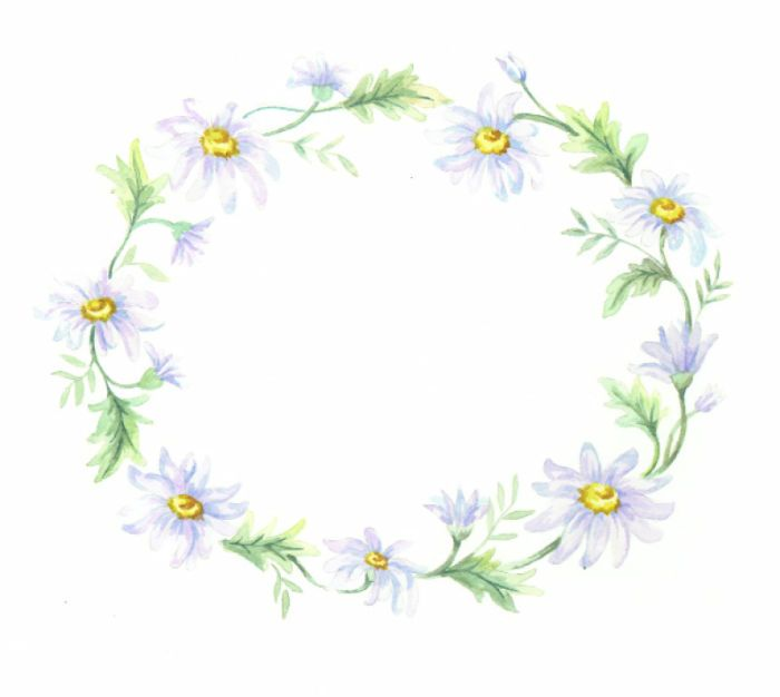 45 Best Wreath Clipart Images On Pinterest Garlands