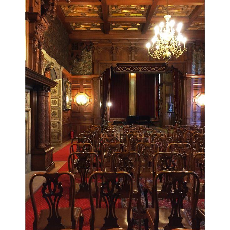 Castelul Peles, sala de concerte
