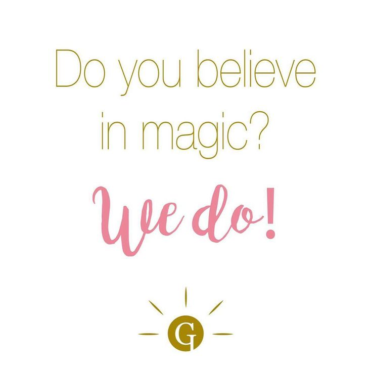 Yes, we believe in magic. #GLIPS #glipscometics #magic #quote