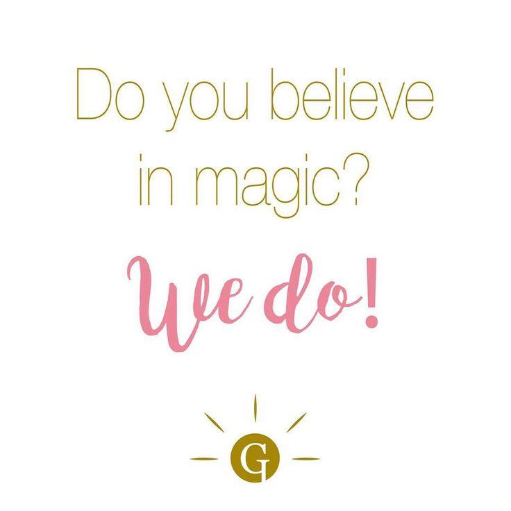 Yes, we believe in magic. #GLIPS #glipscometics #magic #quote