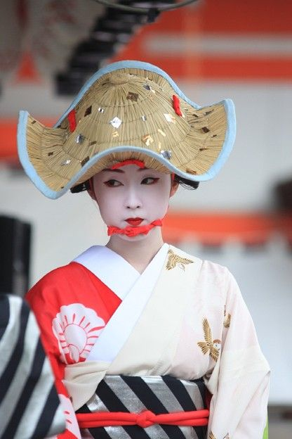 Maiko at Gion Festival, Kyoto, Japan 祇園祭 京都