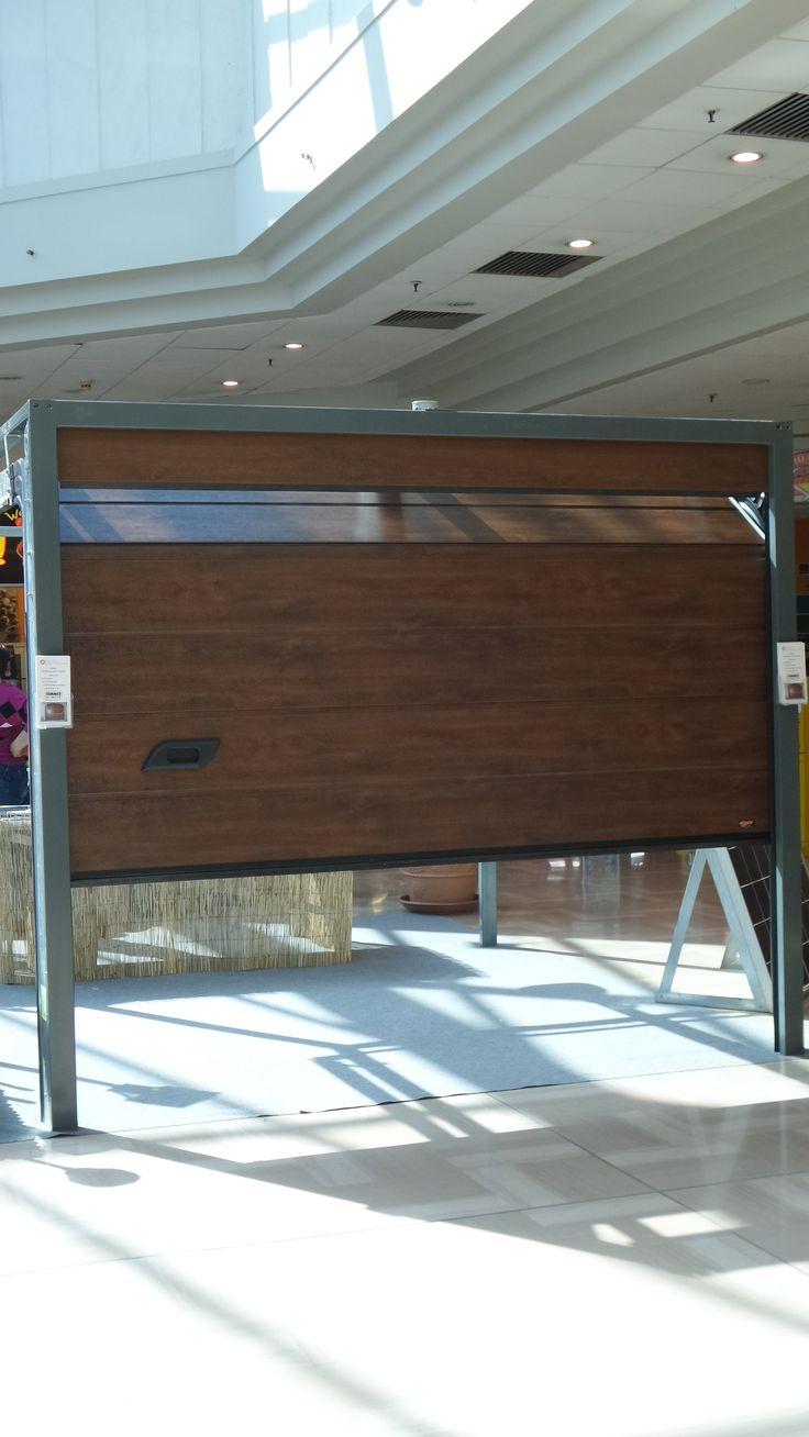 La nostra porta sezionale da garage presente al centro commerciale tuscia (ipercoop)