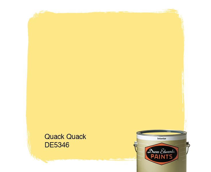 Dunn Edwards Paints Yellow Paint Color Quack Quack De5346