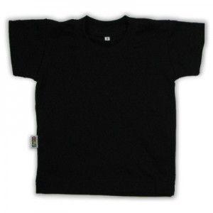 T-shirt enfant noir manches courtes http://simedio.fr
