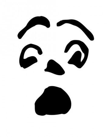 scream pumpkin template - the 25 best pumpkin face templates ideas on pinterest