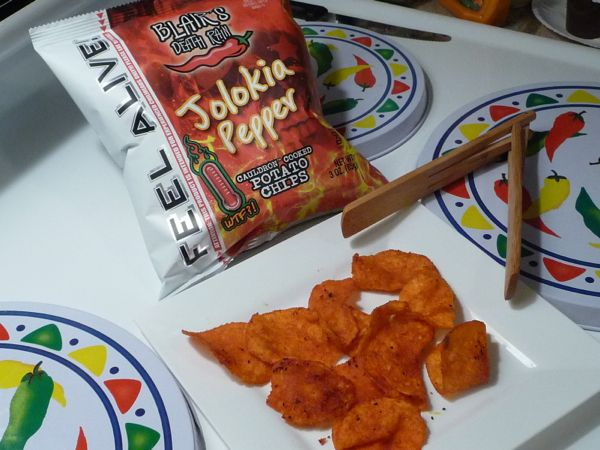 Blair's Death Rain Jolokia Pepper Cauldron Cooked Potato Chips review