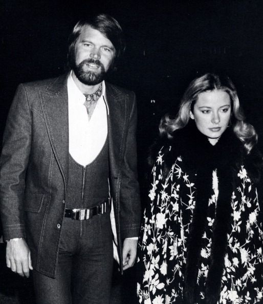 Former husband and wife: Glen Campbell and Sarah Barg