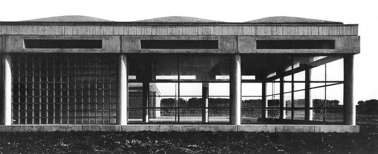 Orphanage, Amstelveenseweg, Amsterdam, Netherlands, 1955-60 (Aldo Van Eyck)