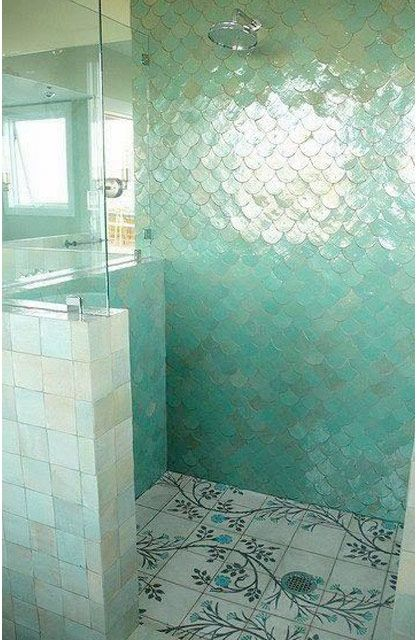 22 exempel på ovanligt vackert kakel till badrummet - Sköna hem